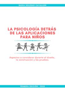 Portada del libro La psicología detrás de las aplicaciones para niños
